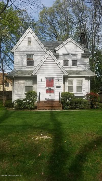 Staten Island Single Family Home For Sale: 561 Bard Avenue
