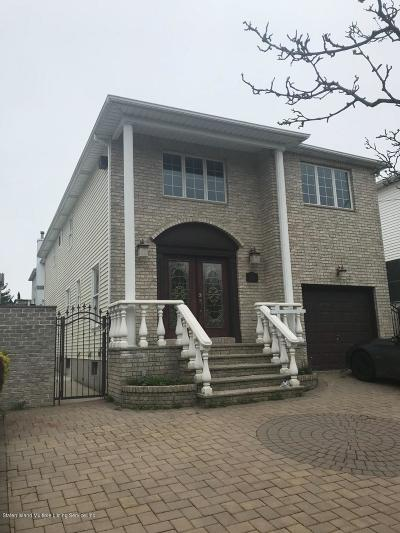 Staten Island Single Family Home For Sale: 342 Amber Street