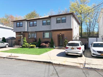 Staten Island Semi-Attached For Sale: 122 Wilson Avenue