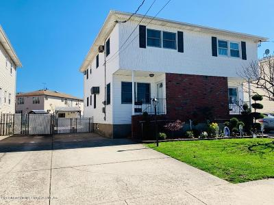 Staten Island Semi-Attached For Sale: 81 Houston Street