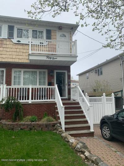 Staten Island Semi-Attached For Sale: 59 Cranford Street