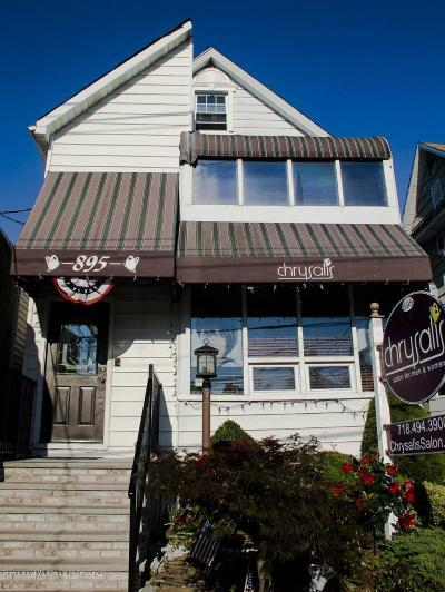 Staten Island Commercial For Sale: 895 Manor Road