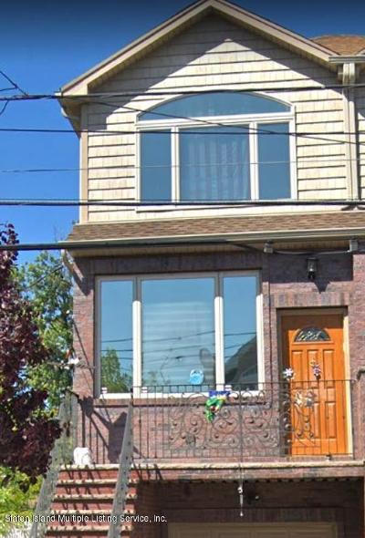 Staten Island Semi-Attached For Sale: 9 Mapleton Avenue