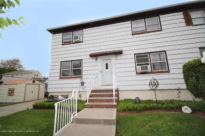 Staten Island Semi-Attached For Sale: 85 Anderson Street