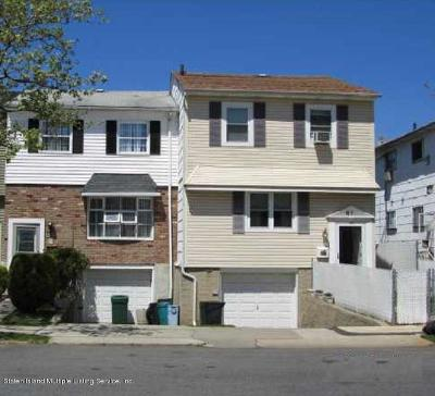 Staten Island Single Family Home For Sale: 81 Spartan Avenue
