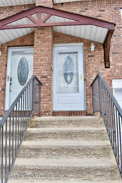 Staten Island Semi-Attached For Sale: 153 Joseph Avenue