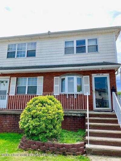 Staten Island Semi-Attached For Sale: 36 Bowling Green Place