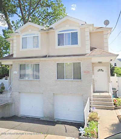 Richmond County Semi-Attached For Sale: 70 Raritan Avenue