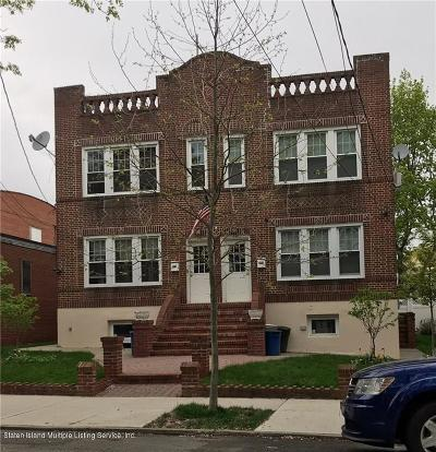 Staten Island Multi Family Home For Sale: 141-143 Cromwell Avenue