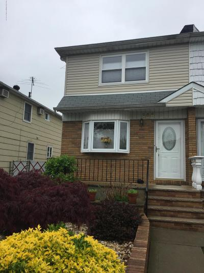 Staten Island Semi-Attached For Sale: 366 Cortelyou Avenue