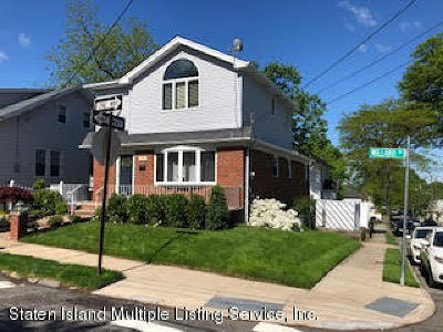 Staten Island Single Family Home Acceptance: 238 Willard Avenue