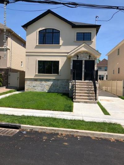 Staten Island Two Family Home For Sale: 242 Ionia Avenue