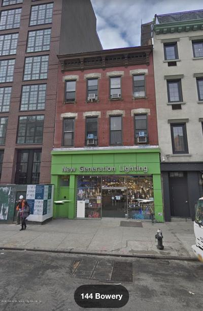Commercial For Sale: 144 Bowery Street