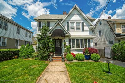 Staten Island NY Single Family Home For Sale: $749,000