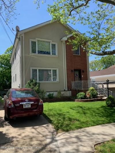 Staten Island NY Two Family Home For Sale: $889,888