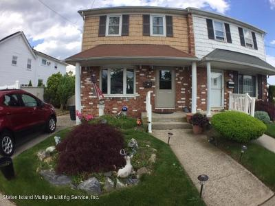 Staten Island Semi-Attached For Sale: 95 Annadale Road