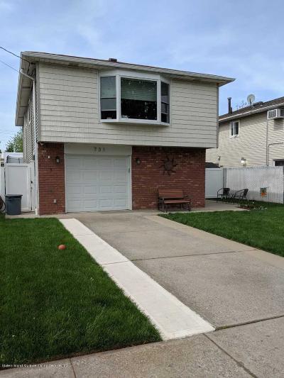 Staten Island Single Family Home For Sale: 731 Katan Avenue