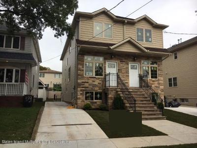 Staten Island Semi-Attached For Sale: 479 Ingram Avenue