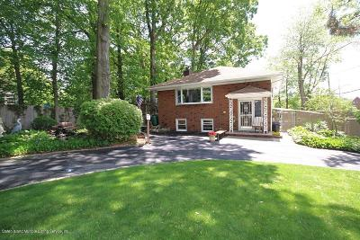 Two Family Home For Sale: 3470 Amboy Road