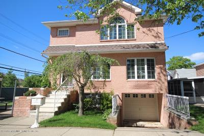 Staten Island Single Family Home For Sale: 60 Linwood Avenue