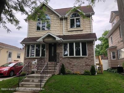 Staten Island Single Family Home For Sale: 257 Woolley Avenue