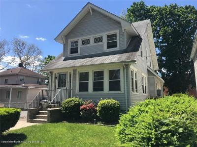 Staten Island Single Family Home For Sale: 76 Jacques Ave