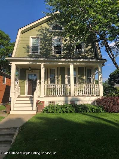 Staten Island Single Family Home Acceptance: 328 Husson Street