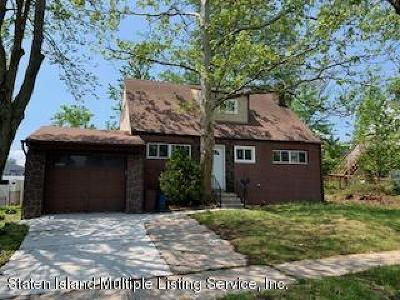 Staten Island Single Family Home For Sale: 4242 Richmond Avenue