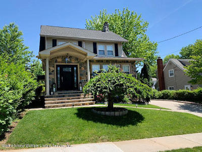 Staten Island Single Family Home For Sale: 45 Bishop Street
