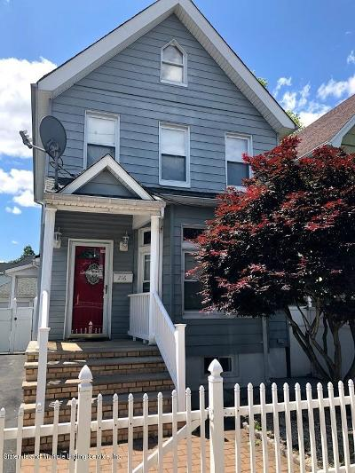 Staten Island Single Family Home For Sale: 216 Taylor Street