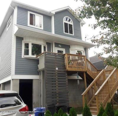 Staten Island Single Family Home For Sale: 94 Goodall St