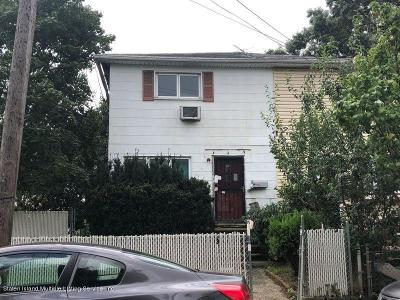 Staten Island Semi-Attached For Sale: 2 Downey Place