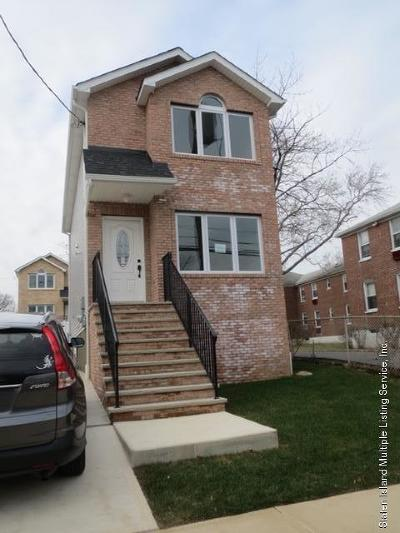Staten Island Two Family Home For Sale: 126 Bard Avenue