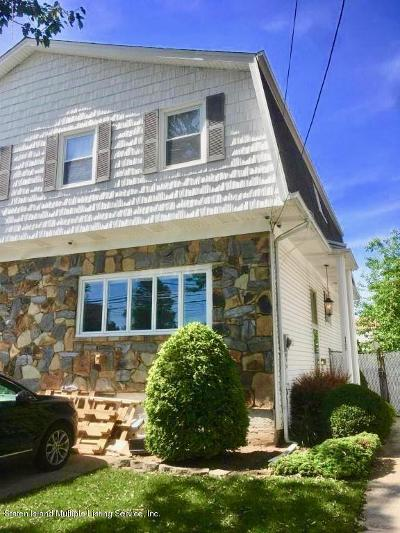 Staten Island Semi-Attached For Sale: 1107 Willowbrook Road