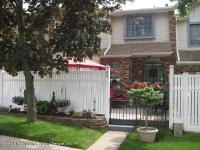 Staten Island Condo/Townhouse For Sale: 66 Lovell Avenue