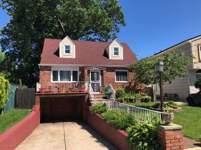 Staten Island Single Family Home For Sale: 234 Rathbun Avenue