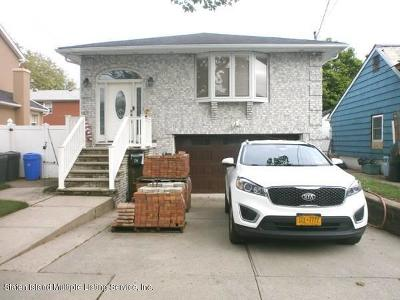 Staten Island Single Family Home For Sale: 254 10th Street