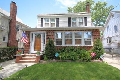 Staten Island Single Family Home For Sale: 65 Jacques Avenue