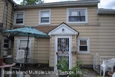Staten Island NY Single Family Home For Sale: $538,500