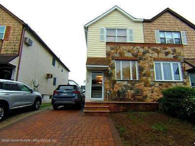 Staten Island Semi-Attached For Sale: 455 Jefferson Avenue