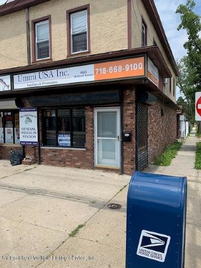 Staten Island Commercial Lease For Lease: 465 Midland Avenue