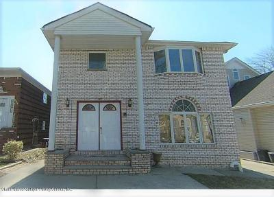 Staten Island Two Family Home For Sale: 208 Sinclair Ave