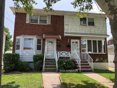 Staten Island Semi-Attached For Sale: 561 Britton Avenue