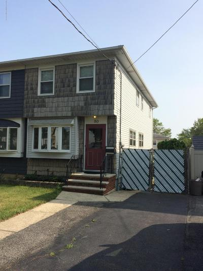 Staten Island Semi-Attached For Sale: 30 Bent Street