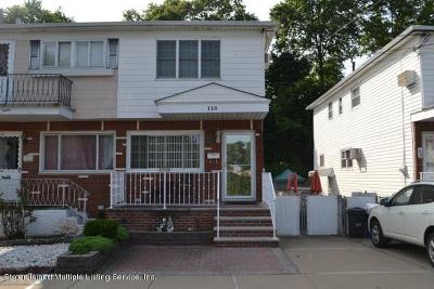 Staten Island Semi-Attached For Sale: 110 South Railroad Avenue
