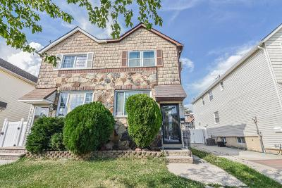 Staten Island Semi-Attached For Sale: 451 Jefferson Avenue