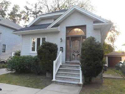 Staten Island NY Single Family Home For Sale: $599,999