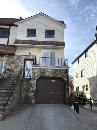 Staten Island Semi-Attached For Sale: 236 Monahan Avenue