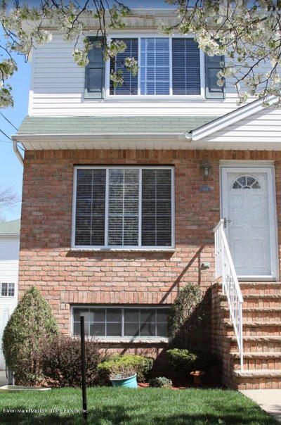 Staten Island NY Two Family Home For Sale: $748,000