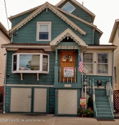 Single Family Home For Sale: 5354 Arthur Kill Road